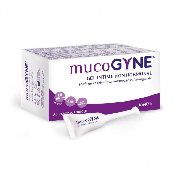 Gel intimo No Hormonal Mucogyne, 8X5ml