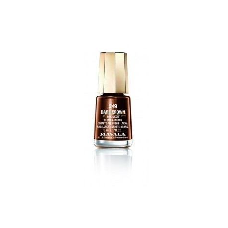 LACA DE UÑAS 249-DARK BROWN MAVALA, 5ml