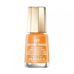 LACA DE UÑAS 127-VOLCANIC ORANGE MAVALA, 5ml
