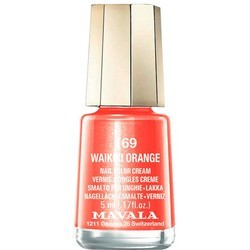 LACA DE UÑAS 169-WAIKIKI ORANGE MAVALA, 5ml