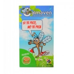 CALMAVEN PARCHES ANTI- MOSQUITOS, 20Uds