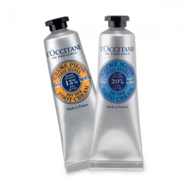 L'OCCITANE KARITÉ DÚO MANOS & PIES, 2x30ml