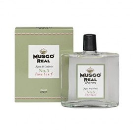 MUSGO REAL AFTER SHAVE COLOGNE N5 LIME BASIL 100ml