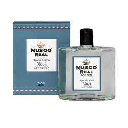 MUSGO REAL AFTER SHAVE COLOGNE N4 LAVENDER 100ml