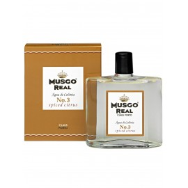MUSGO REAL AFTER SHAVE COLGNE N3 SPICED CITRUS 100ml
