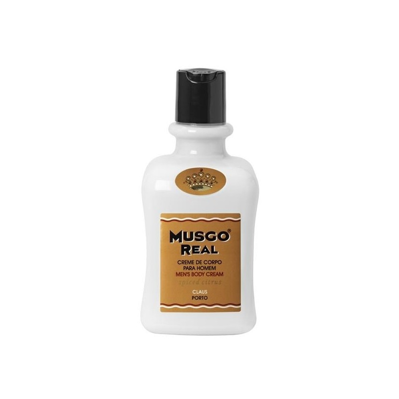 MUSGO REAL CREMA CORPORAL SPICED CITRUS, 300ml