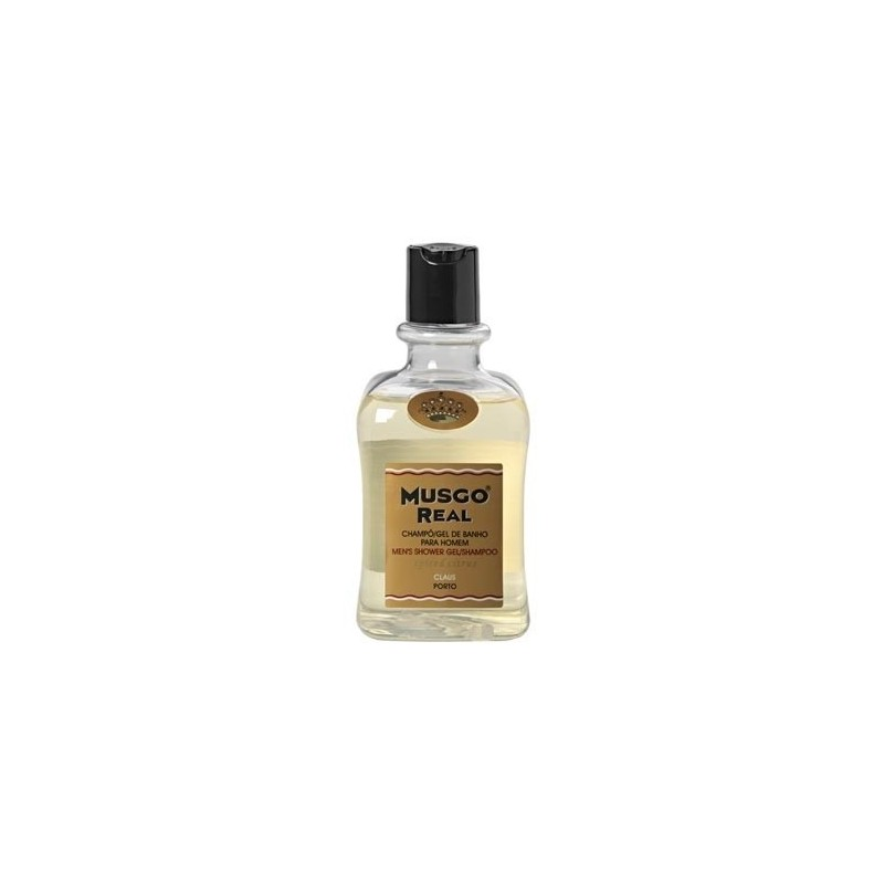 MUSGO REAL GEL DE DUCHA & CHAMPÚ SPICED CITRUS, 300ml