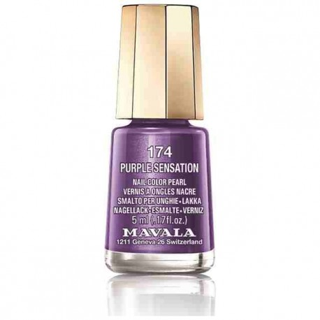 LACA DE UÑAS 174-PURPLE SENSATION MAVALA, 5ml