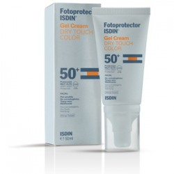 ISDIN FOTOPROTECTOR GEL CREAM DRY TOUCH SIN COLOR, 50ml