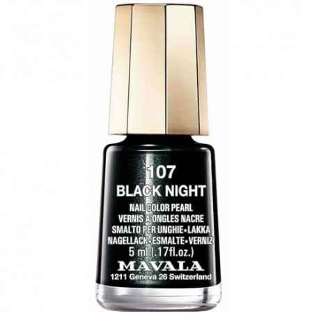 LACA DE UÑAS 48-BLACK NIGHT MAVALA, 5ml