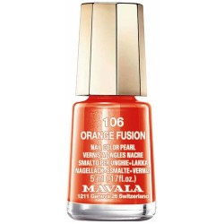 LACA DE UÑAS ORANGE FUSION MAVALA, 5ml