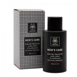 MENS'CARE AGUA DE COLONIA CON CEDAR & CARDAMOMO APIVITA 100ml
