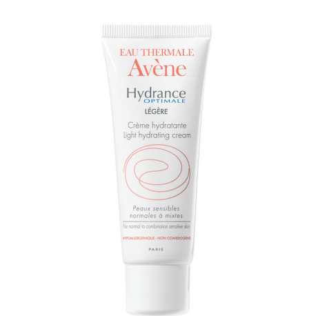 AVÈNE HYDRANCE OPTIMALE CREMA LIGERA, 40ml + REGALO GEL DE DUCHA, 100ML