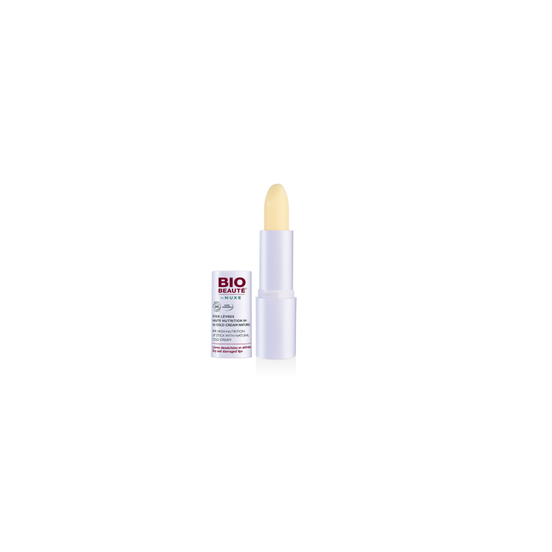 NUXE BIO-BEAUTÉ STICK LABIAL COLD CREAM, 4GRS