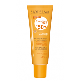BIODERMA PHOTODERM MAX AQUAFLUIDO CON COLOR SPF50 TONO CLARO, 40ML